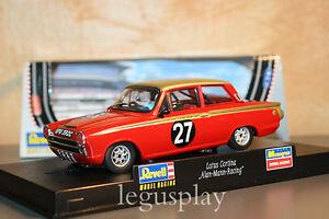 "Slot Scalextric Revell 08379 Lotus Cortina "" Alan Mann Racing "" Nº 27"