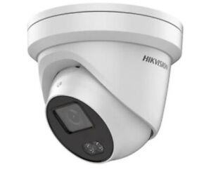 Hikvision DS-2CD2347G1-LU 2.8mm 4mp Light & Mic Turret CCTV IP Camera ColourVu