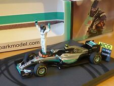 Spark 1:43 Nico Rosberg Mercedes W07 # 6 Abu Dhabi GP 2016 World Champion S5025