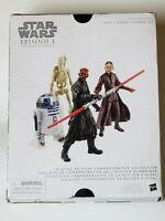 """Star Wars Collection Episode I Phantom Menace Action Figure Set 3.75"""""""