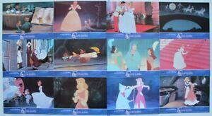 Cinderella Walt Disney animation 1990 re-release Spanish lobby card set 12