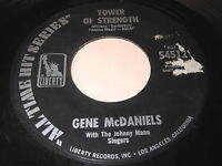 Gene McDaniels: Tower Of Strength / A Hundred Pounds Of Clay 45 - Soul