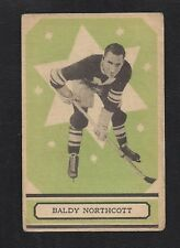 1933 OPC V304B #60 Baldy Northcott, Vintage Montreal Maroons NHL Hockey 1933-34