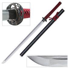Premium Crimson Blood Full Functional Ronin Katana Razor Sharp Edge Folded Steel