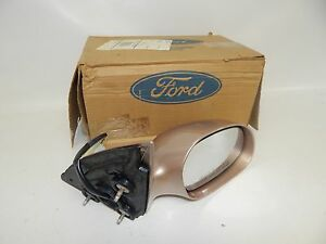 New OEM 96-99 Ford Mercury Power Front Door Mirror Right Hand Side Rear View RH