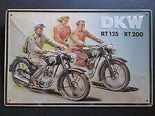 DKW, Motorrad, Motorräder, BLECHSCHILD