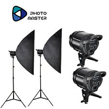 Photo Master Photography LED Studio Video Continuous EL600 Softbox Sun Light Kit