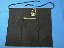 """Singha Beer Ap 00004000 ron Embroidered """"Lion Of Asia"""" Logo Pub Bar Wait staff Long & New"""