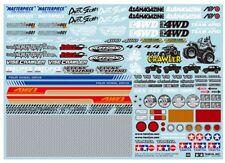 Tamiya-HOP-UP opzioni Sponsor Adesivo Set per OFF-ROAD CAR # 54630