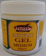 250ml TUB LOXLEY ARTIST GEL MEDIUM ACRYLIC PAINT GLOSS ENHANCER THICKENER LA08