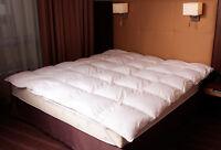 Daunendecke Bettdecke Oberbett Decke 70% Daunen 30% Federn Winter Warm 135x200cm