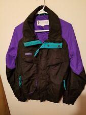 COLUMBIA powder keg light jacket medium colorblock   windbreaker awesome conditn