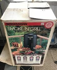 Brinkmann Smoke 'N Grill Charcoal Smoker and Grill NOS (1985)