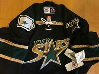 8e14c0bb6 Iowa Stars Reebok AHL Ice Hockey Jersey Youth Kids L XL Large XL Dallas NHL