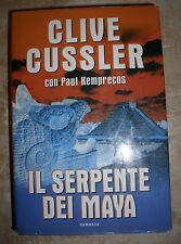 CLIVE CUSSLER - IL SERPENTE DEI MAYA - ED:MONDOLIBRI - ANNO:2002  (BU)