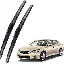 Genuine OEM Set Front Windshield Wiper Blades For 2013-2015 Lexus GS350 GS450h
