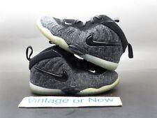 Nike Air Lil Posite Pro Foamposite Fleece Wool Toddler TD 2017 sz 9C