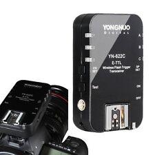 1 x Yongnuo YN-622C Wireless Flash Trigger E-TTL Transceiver for Canon EOS 7D US