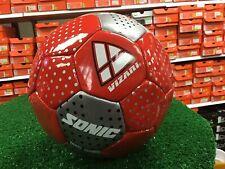New Red / Silver Vizari Sonic Soccer Ball Size 3