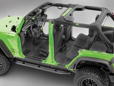 BedRug™ Front 4 Piece Floor Kit 2007-2015 Jeep Wrangler JKU 4 Door BRJK07F4