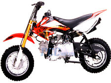 Coolster 213A New Red 110cc Fully Auto Kid/Youth Dirt Bike Red