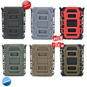 Tactical Soft Shell Scorpion 5.56/7.62mm Pistol Rifle Mag Carrier Magazine Pouch