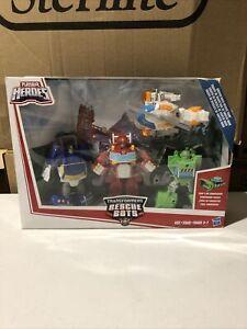 Playskool Transformers Rescue Bots Heatwave Griffin Rock Team Hasbro B5581