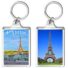 PARIS FRANCE KEYRING SOUVENIR NEW LLAVERO