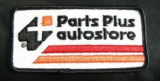 """PARTS PLUS AUTO STORE EMBROIDERED PATCH AUTO SUPPLY ADVERTISING 4 1/4"""" x 2"""""""