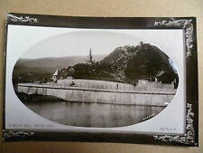 .Vintage Embossed Postcard: Dunoon: Castle Hill from Pier, Scotland >Argyllshire