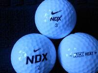 "20  NIKE  ""NDX HEAT"" - MIXED HEAT MODELS - Golf Balls -  ""A "" Grade."