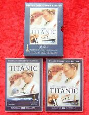 Titanic Deluxe Collector´s Edition, Leonardo DiCaprio und Kate Winslet 4 DVD Set