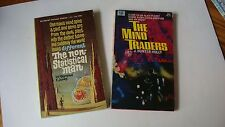 Sci-Fi 2 PB Book Lot The Non-Statistical Man(1964)/The Mind Traders(1967)