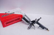K-3 Paint Color Spray Gun Air Mini Inner-Atomization Durable Spray Gun 1/4 Pint
