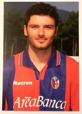 Cartolina Bologna Calcio 2001-02 Roberto Goretti