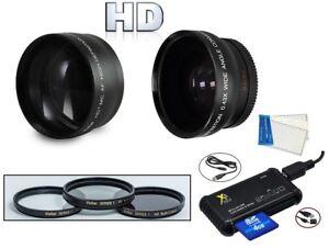 7-Pc Super Sparen HD Zubehörset für sony HVR-HD1000U HVR-HD1000