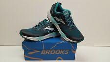 Brooks Cascadia 13 Women's Trail Running Shoe Size 6 New (Teal/Aqua/Grey)