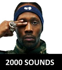 RZA 2000 Drum Samples Kit Wu-Tang Hip Hop Sounds R&B MPC xl Maschine Logic FL
