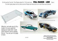 Display Stand /Support for 1:18 model cars   * FULL RISER - LOW version*