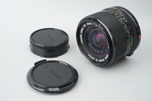 Canon New FD nFD 28mm f2 f/2 Wide Angle MF Lens, For Canon FD Mount