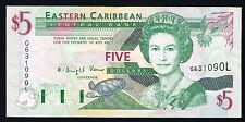 CARAÏBES - SAINTE LUCIE - 5 DOLLARS Pick n°42i de 2003 non daté en SUP G631090L