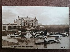 More details for postcard anglesey - the lake boat cove rhosneigr  -  early 1900's.