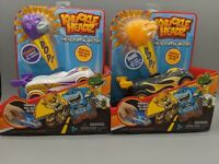 Lot of 2 Knuckle Headz Head Poppin' Racecar Boys Toys Fang And Francis NEW