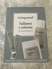 Living Proof Fullness + Volume MINI Transformation Kit 4 piece kit