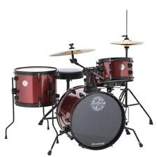 Ludwig LC178X025 Questlove 4 Piece Pocket Drum Kit, Red Wine Sparkle