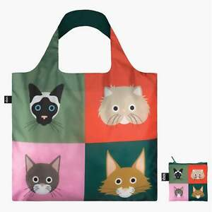 CATS Bag Stephen Cheetham The UK's Most popular LOQI Reusable shopping Tote Bag