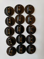 **QTY 100** RDC Adapters To Extend  F71 BI-PIN Lamps to a F72 RDC Lamp Black NEW