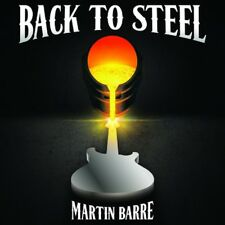 MARTIN BARRE Back To Steel CD 2015 NEW Sealed Jethro Tull