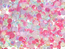 Mixed Jelly strass 3-5 mm 20 g 500pcs Sorbet Mix Converse Téléphone Kit Craft À faire soi-même