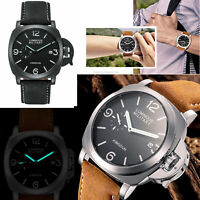 KIMSDUN Men's Fashion Watch Quartz Sports K-711D Leather Waterproof Luminous New